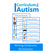 Writing Sentences- 30 Worksheets with Prompts